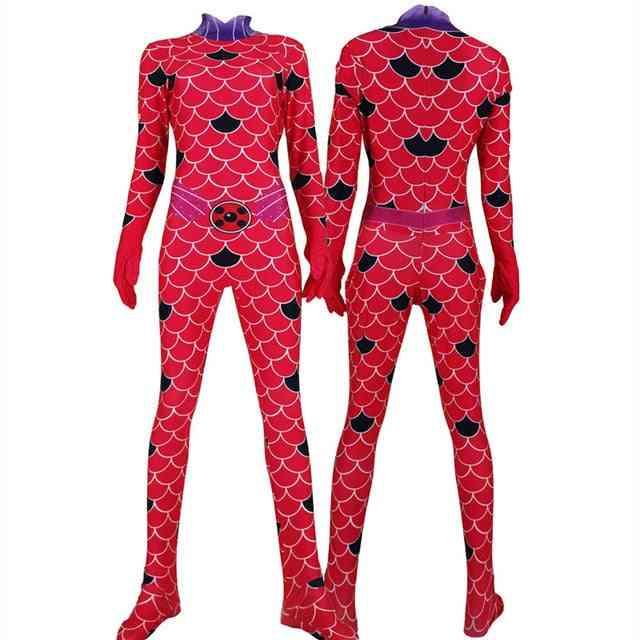 Anime Queen Suit, Cosplay Rena Rouge Bodysuits