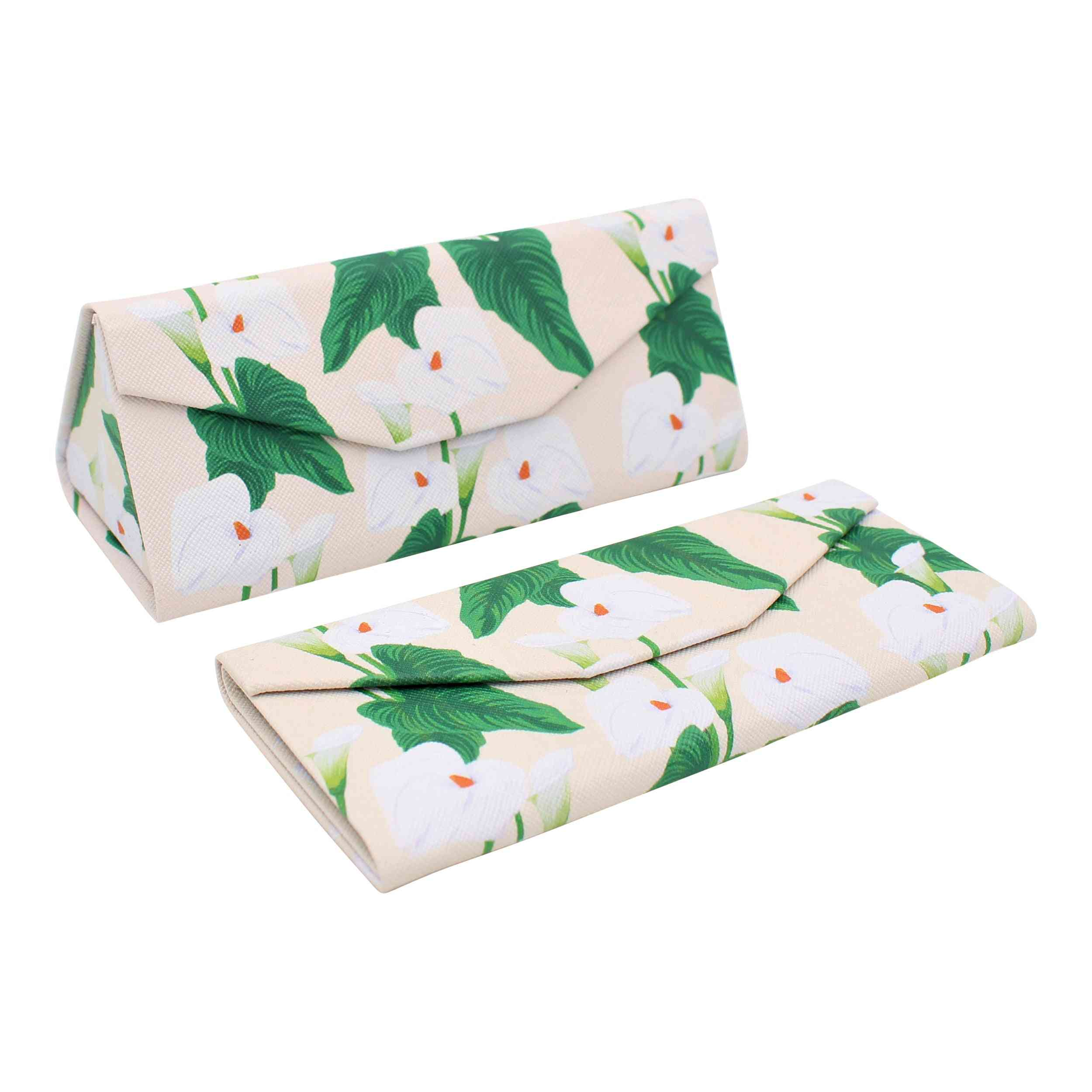 Real Sic Plants Magnetic Folding Pu Leather Hard Glasses Case – Lilly