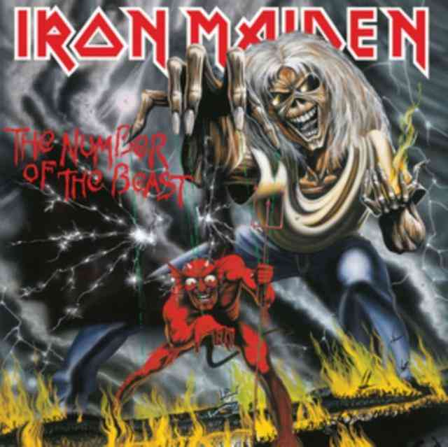 Iron Maiden Lp - The Number Of The Beast
