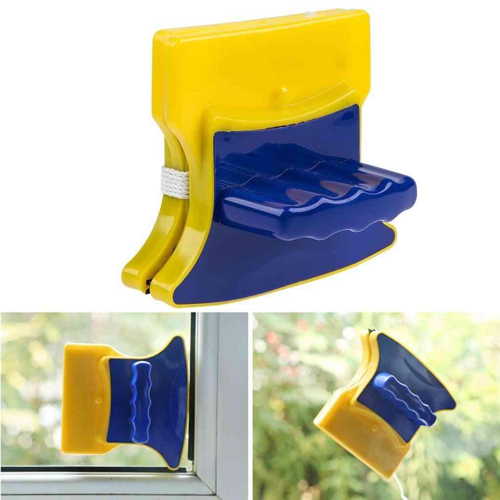 Magnetic Window Cleaner Glass Brush Tool Double Side Glass Wiper Algae
