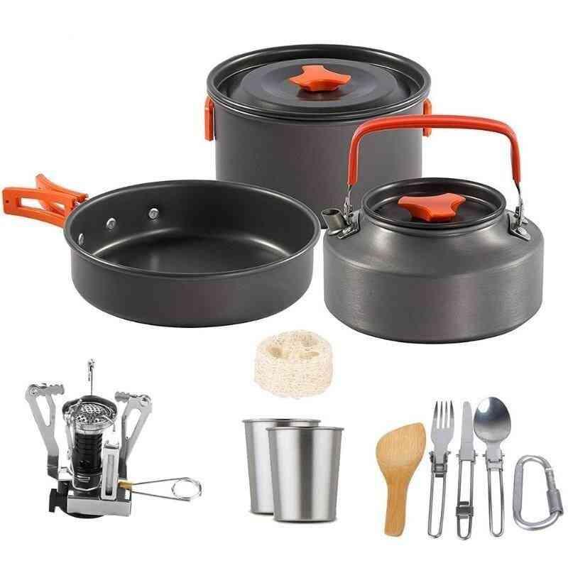 Outdoor Camping Cookware Set