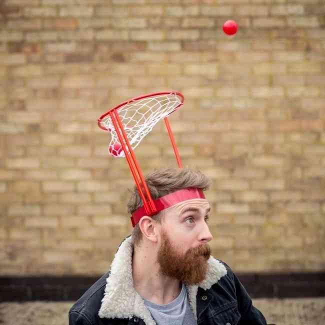 Basket Case Headband Hoop