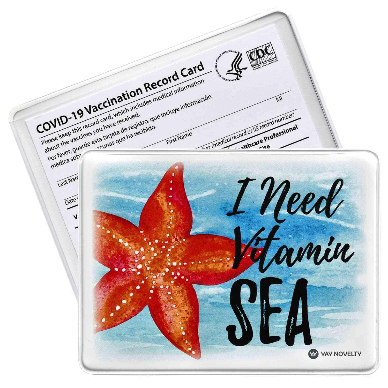 Vaccination Card Protector - Vitamin Sea