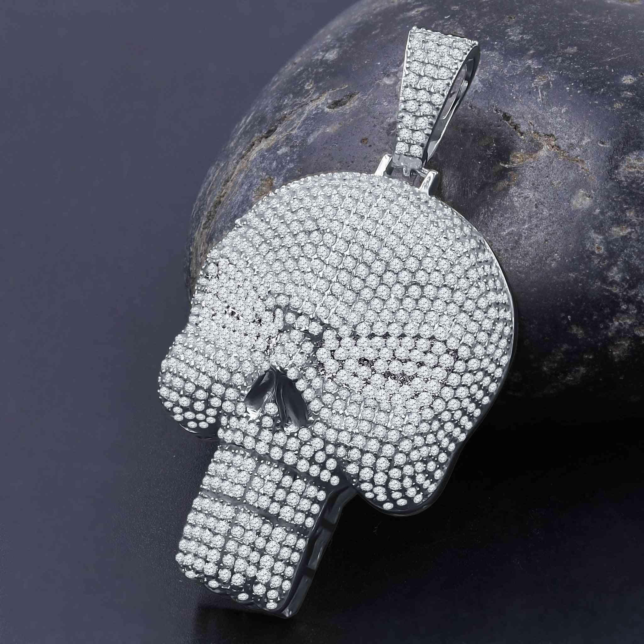 Brainpan Silver Pendant | 9214281