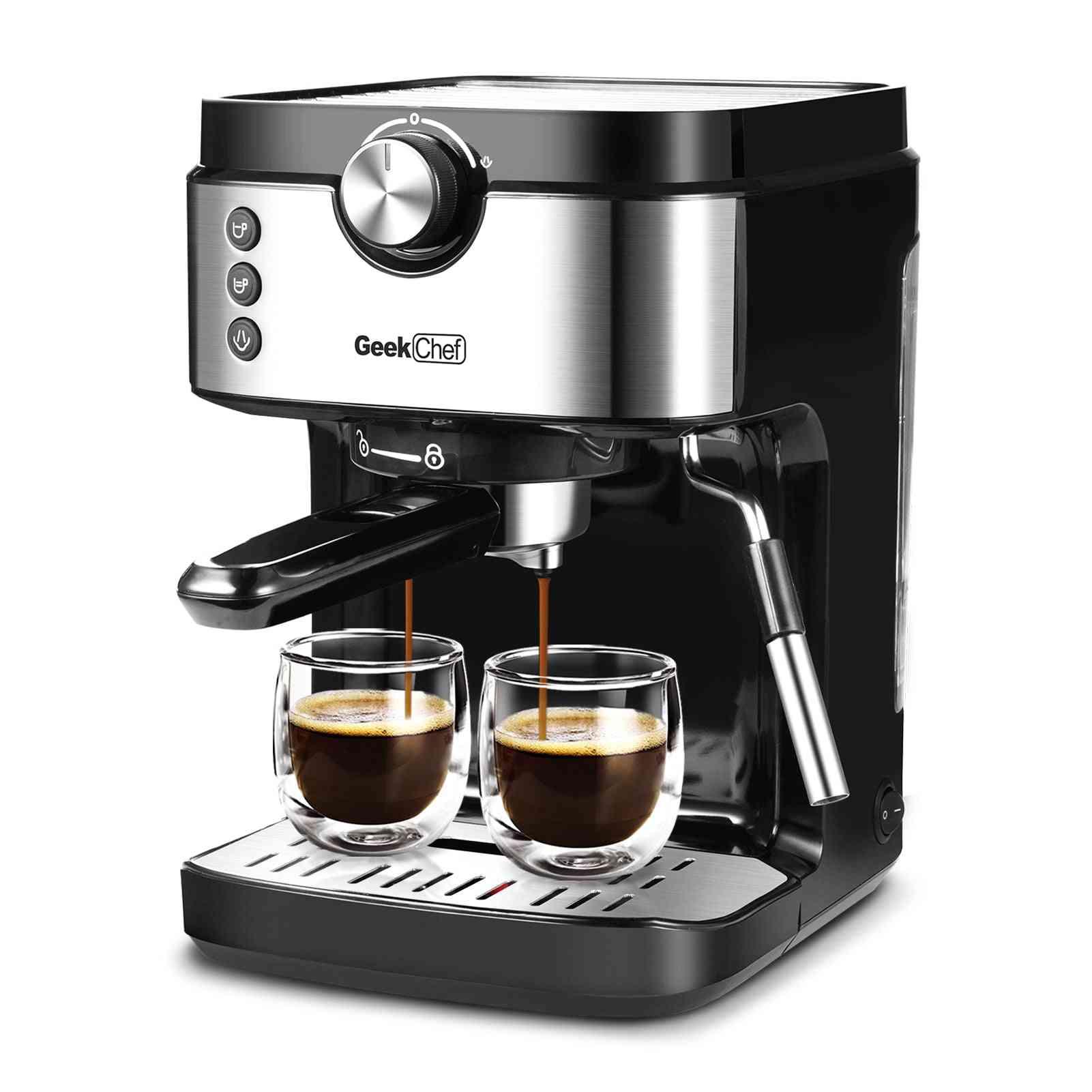 Espresso Coffee Machine 20 Bar Coffee Maker