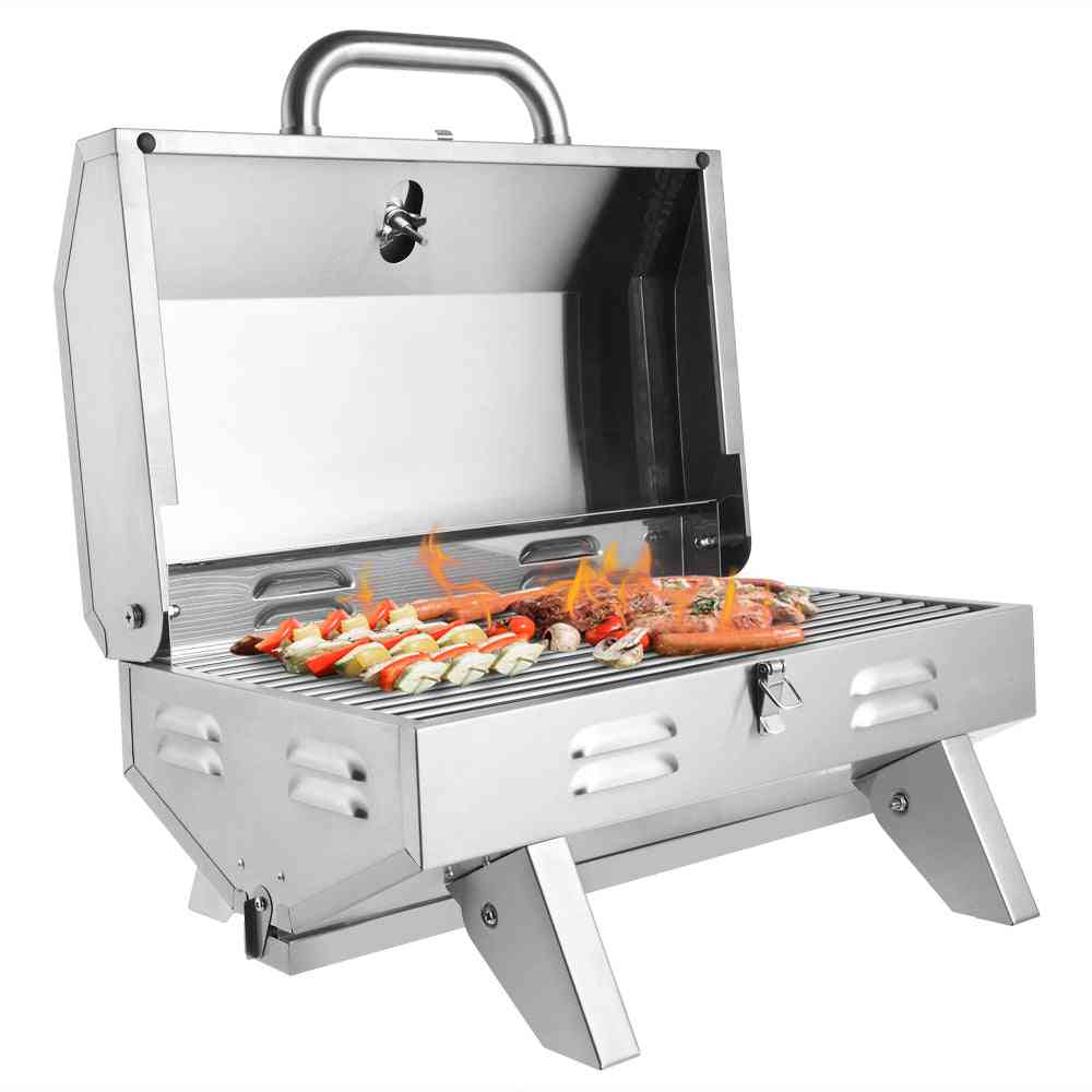 Stainless Steel Grill Gas Oven Single Row Square Small Oven