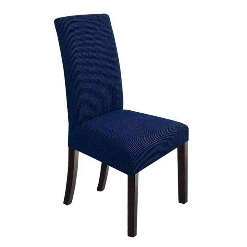 Chair Cover Plush Stretch Thick For Dining Room Chair Slipcover Sp