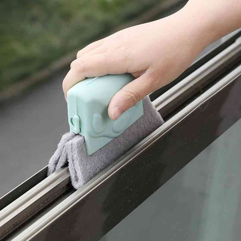 Hot Sales! Creative Window Groove Cleaning Cloth Window