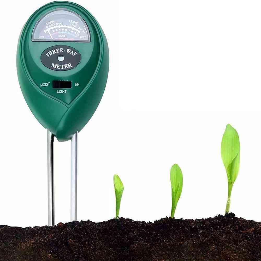 3-in-1 Soil Moisture/light/ph Tester Gardening Tool Kits For Garden Sp