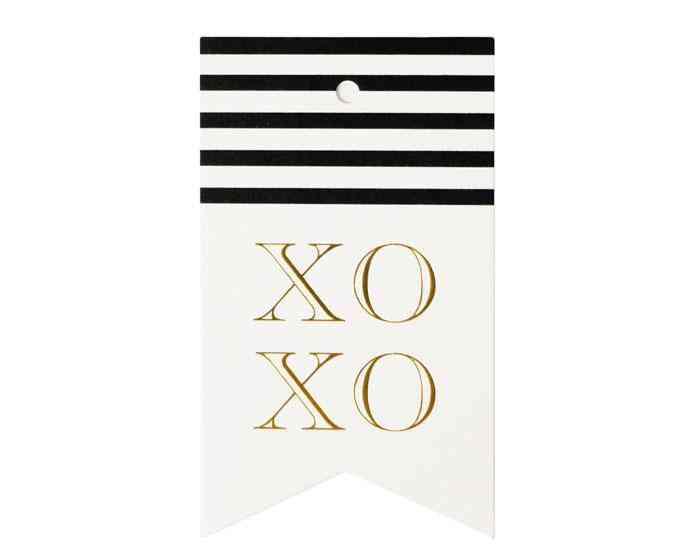 Xoxo Single Tag