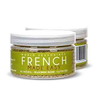 French Made Easy - All Natural, Gluten Free Seasoning Blend