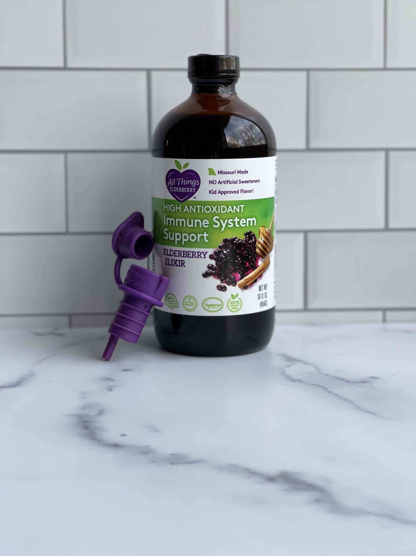 Elderberry Elixir And Pour Spout Starter Set