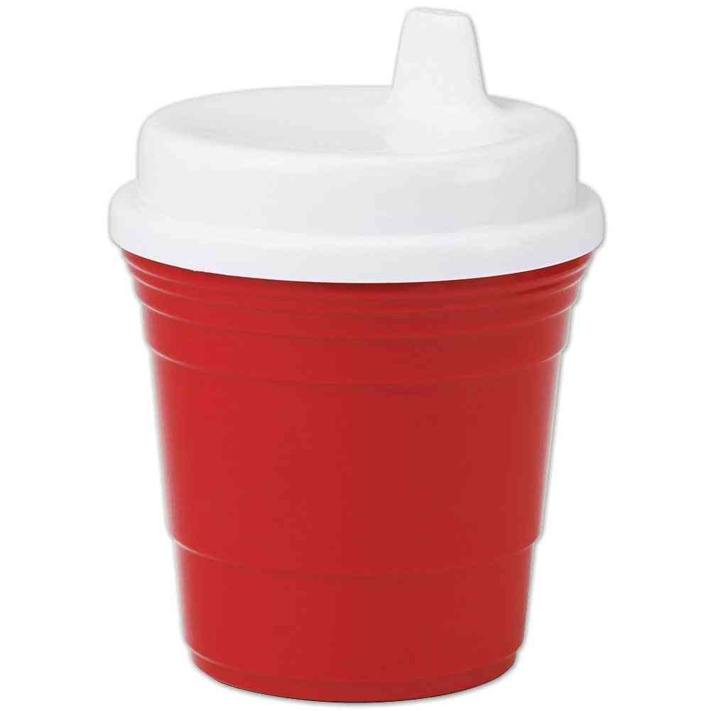 Baby Sippy Cup Red Party Cup